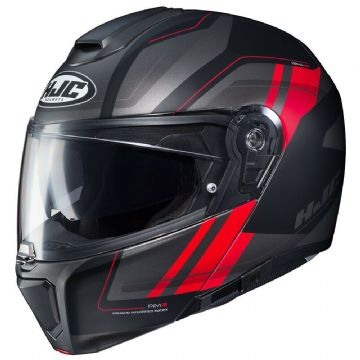 HJC RPHA 90 Tanisk Red MC1SF Flip Front Motorcycle Motorbike Full Face Helmet